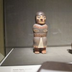 Mounted clay figurine CMA