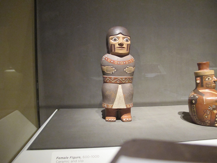 Mounted clay figurine CMA